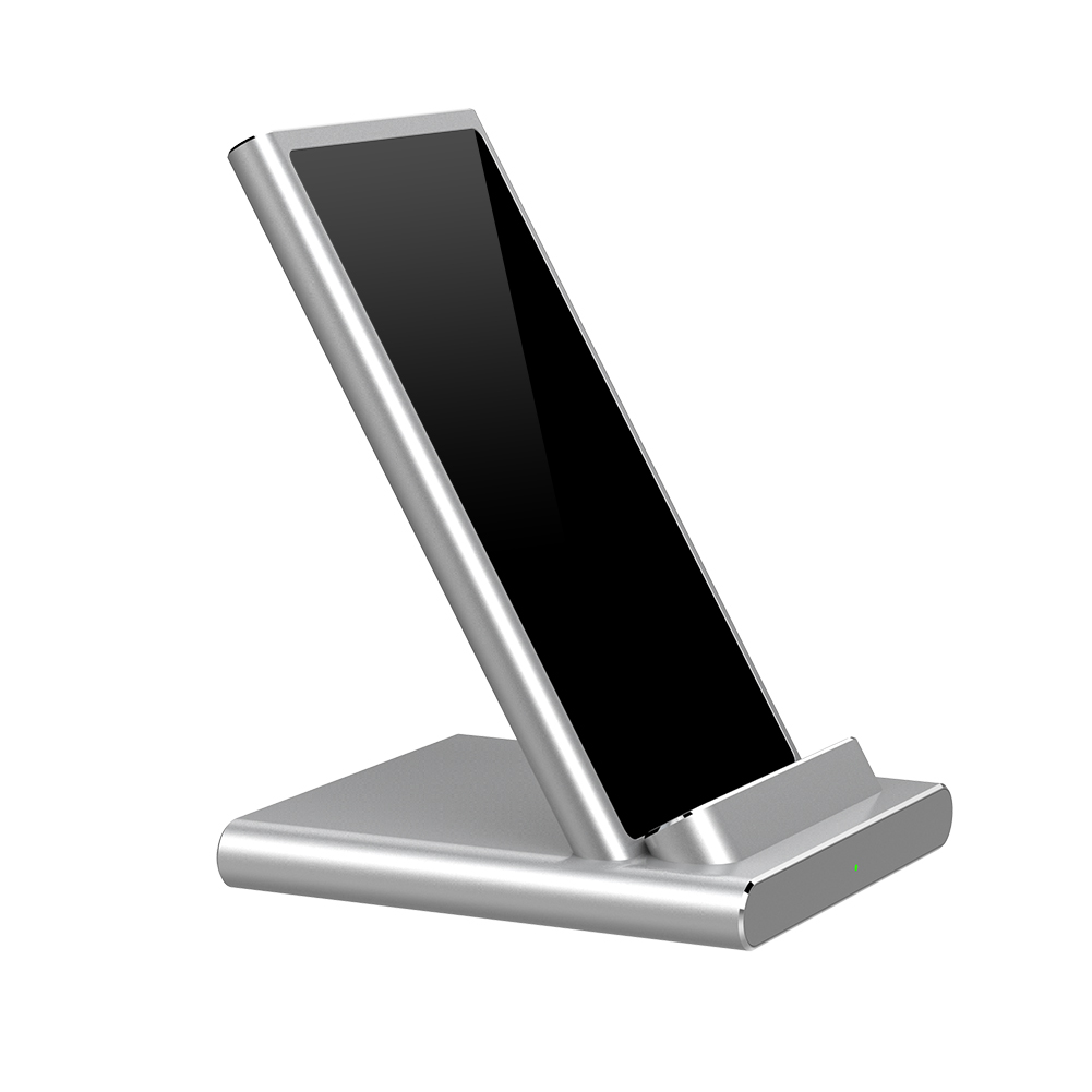 WiWU X6 2 in 1 Wireless iPhone Fast Charger Stand Dual Coil High-speed Aluminum Alloy Desktop