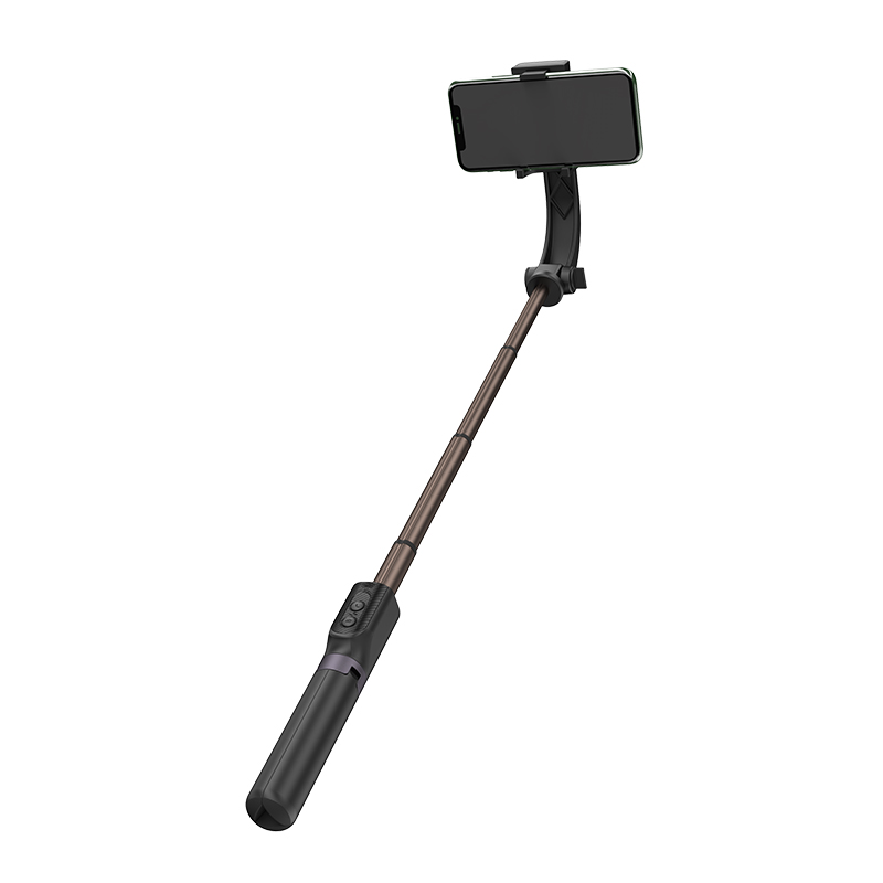 WiWU TGS-301 450mAh Capacity 1h Charging 10meters Remote Control Distance Aluminum Alloy Tripod Portable Phone Selfie Stick