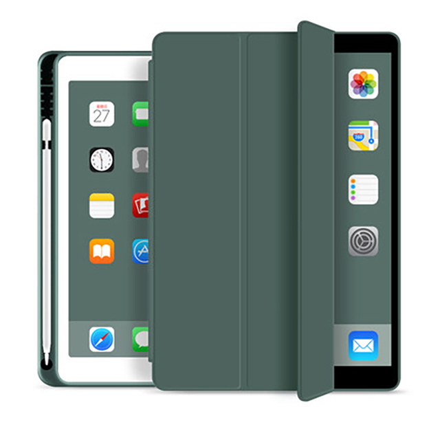 WiWU iPad Case PU Protective Cover Case with Pen Slot 10.5 inch Tablet Case Cover Auto Sleep Wake