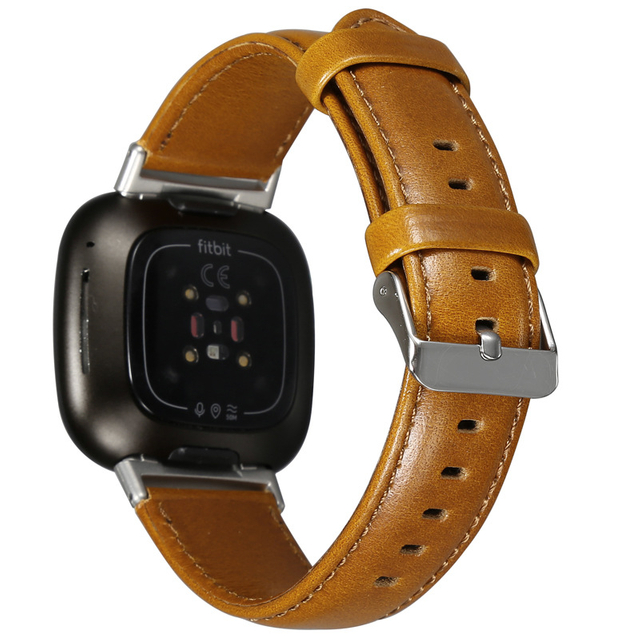 WiWU Compatible with IWatch Band Genuine Leather Replacement Band Strap Adjustable Waistband Strap