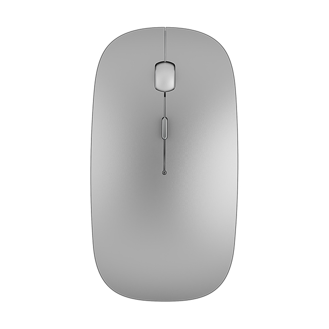 WiWU Wimic Lite 102 Single Mould 2.4G wireless mouse for tablet PC laptop accessories with rechargeable battery silver